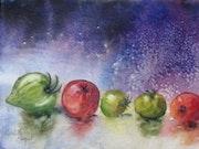 La danse des tomates.