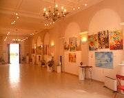 Expo rencontre des arts villefranche sur mer février 2014.