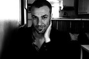 Pierre Lefèvre, verrier d'art et best friend - Chez moi - Novembre 2013.