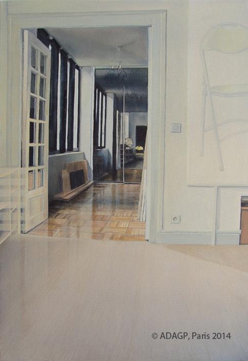 Interieurs - © adagp, Paris - (série). Sara Fratini