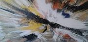 Peinture abstraite composition105.