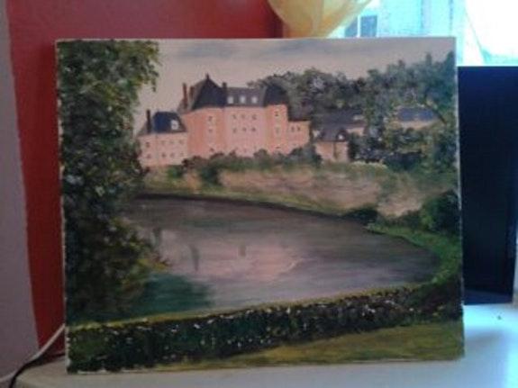 Le château de Couterne. Pk Pierrette Kuhn