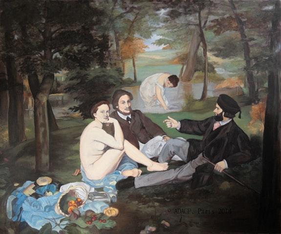 Depuis Manet, «Le déjeuner sur l'herbe». Sara Fratini