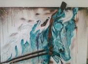 «Le cheval bleu».