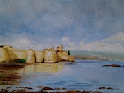 Le fort d'Antibes. Gil