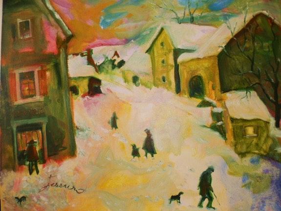 «Le petit-charmont sous la neige». Jessuro Jessuro
