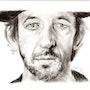 Arthur h, portrait au fusain du 051214. Philippe Flohic