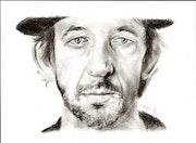 Arthur h, portrait au fusain du 051214.