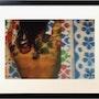 Photographie encadrée de la série «Les patchworkris» :Mosaïques sur Lounja. Mamoon, Peintre, Scénographe, Photographe, Réalisateur…