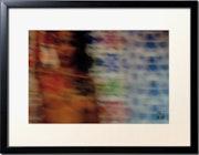 Gerahmtes foto «Die patchworkris von Mamoon» Mosaiken Lounja «2». Mamoon, Peintre, Scénographe, Photographe, Réalisateur…