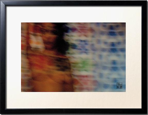 Gerahmtes foto «Die patchworkris von Mamoon» Mosaiken Lounja «2». Mamoon, Fotograf, Filmemacher, Maler, Designer Mamoon, Peintre, Scénographe, Photographe, Réalisateur…