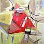Série «a la mémoire de l'avant garde russe. Suprématisme». «Triangle Rouge». Diana Belaya