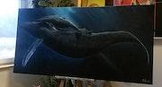 Baleine et son petit.
