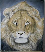 African Ochre Lion.