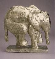 Baby elephant. Barake Sculptor