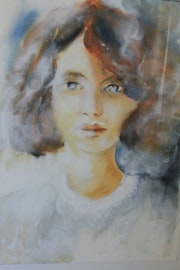 Portrait aquarelle.