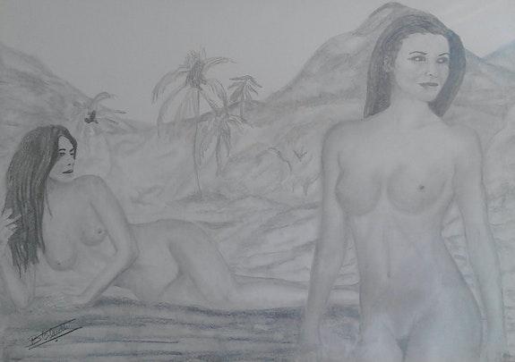 Polynesiennes. Ochietti Bernard Ochietti