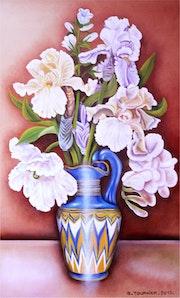 Les Iris au vase Egyptien.