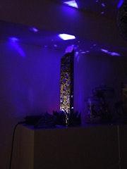 Colonne illuminée en acier inoxydable. Mrmaxzakapentax