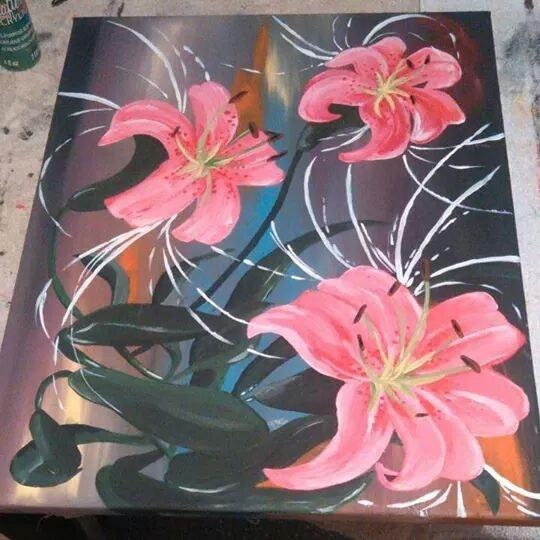 Fleurs de vie. Katherine Marceau K-Aime