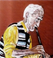 Musique-Jazz-Rock -Le clarinettiste. Sergio