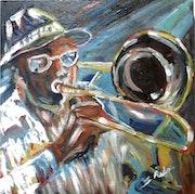 Musique-Jazz-Rock -Le Trombone à coulisse. Sergio