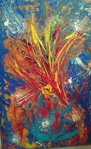 La fleur de lys acrylique. Nohallel
