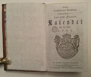 Hof und Staatskalender 1791, Kurfürst Karl Theodor von der Pfalz und Bayern!. Thomas Kern