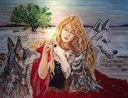 La jeune fille aux loups ou le petit chaperon rouge (version 2000). Magic Art