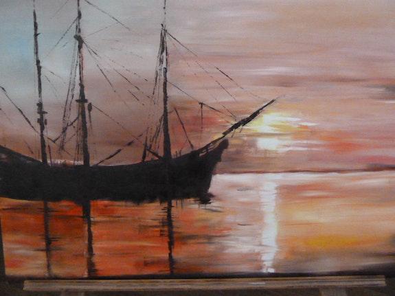 Pirates au repos. Amdv Anne-Marie Vandorpe Deligne