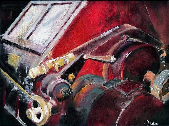 La machine rouge. Martine Brandolin Martine Brandolin