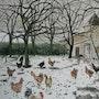 Les poules de plein air. Françoise-Elisabeth Lallemand