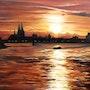 Rhein in Flammen. Simone Wilhelms