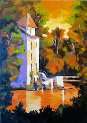 «Le vieux moulin».
