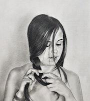 Maxi Lopez, retrato. M. Pilar