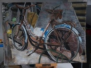 Corsican bicycle. Ann Carole Fletcher
