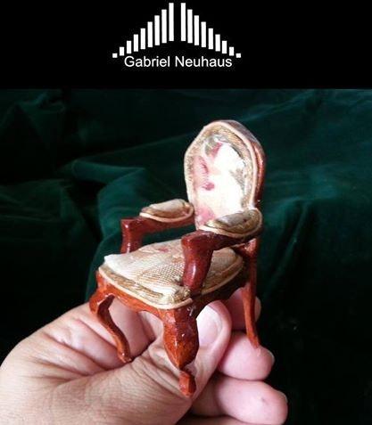 Silla Luis XV Miniatura. Escala 1:12. Gabriel Neuhaus Gabriel Neuhaus