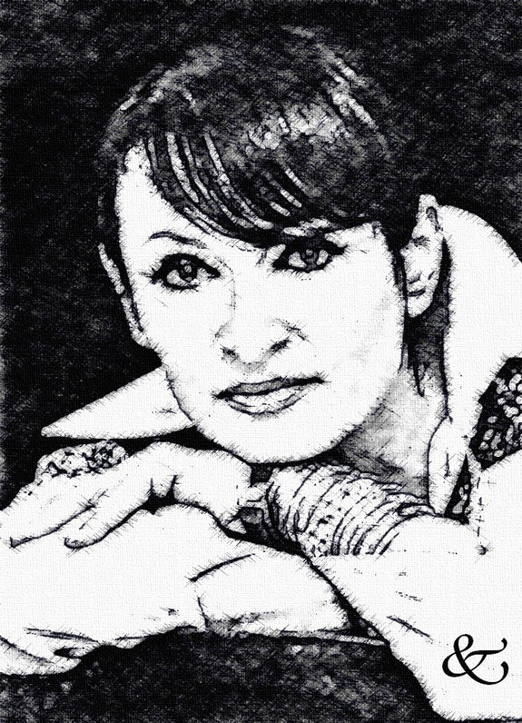 Barbara, la dame brune. R. Depienne Raymond Marcel Depienne