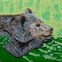 Le vieil ours » autoportrait». Fk
