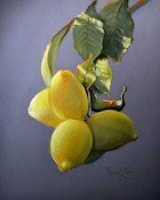 Citrons au pastel.