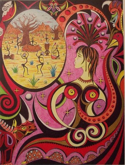 La danse des Baobabs.  Didier Caméléon