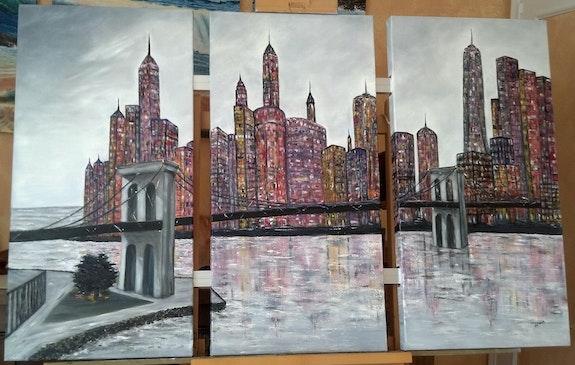 Pont de Manhattan. Patricia-Vivier -Robert Patricia Vivier Robert » Pat V »