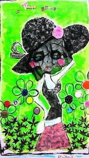 La veuve noire. Radmila Sally Stojkovic Burton