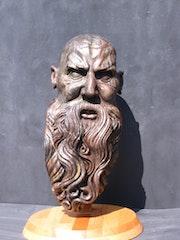 Alter Mann mit Bart.