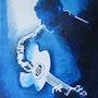 Bleu guitare n°305 02/2015. Jean Claude Ciutad-Savary. Artiste Peintre