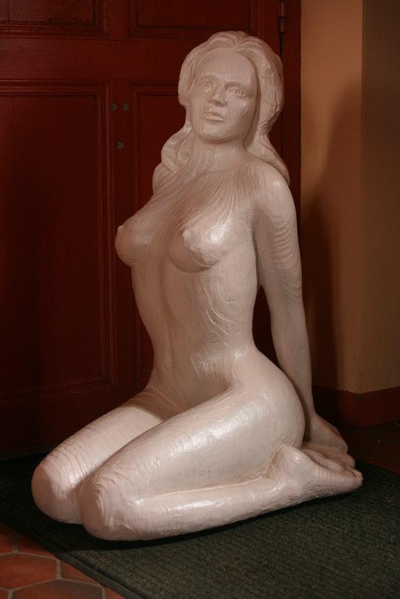 Statue L'inconnue. Jean Marie Delestre Jean Marie Delestre