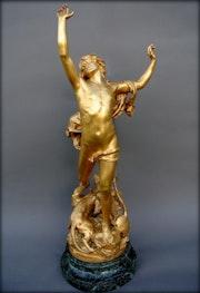 La douleur d'Orphée. Marc Menzoyan Antiquités