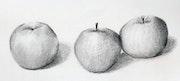Les trois pommes.