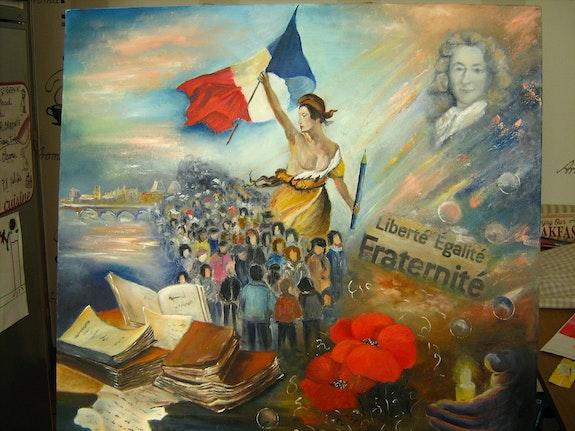 Ode à la Liberté. Daniele Jondeau Dany