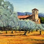 Eglise de Lourmarin. Andre Blanc